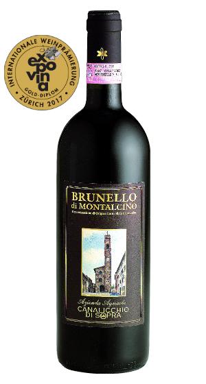 Brunello di Montalcino Canalicchio di Sopra Riserva, 7.5 dl