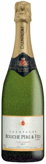 Champagne Bouché Père & Fils, Cuvée Réservée Brut, 7.5 dl