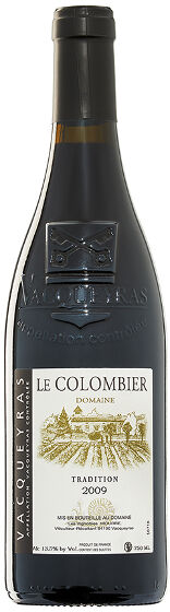 Vacqueyras Tradition Le Colombier 2011 7.5 dl
