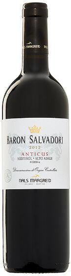 Anticus Baron Salvadori Merlot Cabernet 7.5 dl