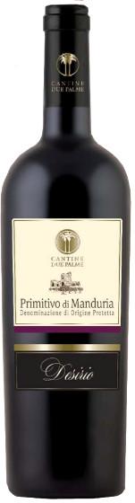 Desirio Primitivo di Manduria Cantine Due Palme 7.5 dl